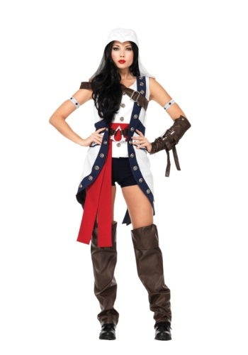 Assassins Creed Connor Girl Costume