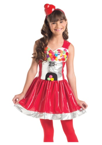Bubblegum Cutie Costume For Girls