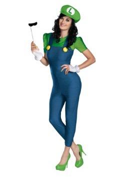 Women's Deluxe Luigi Costume