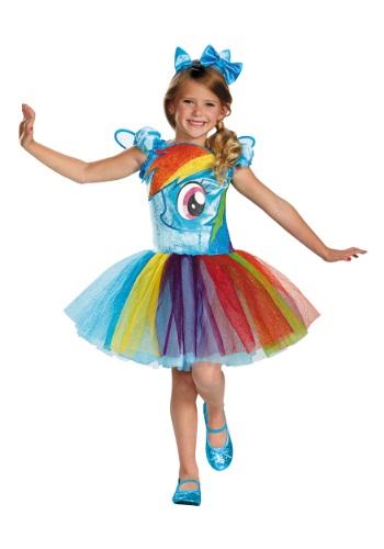 Toddler Girls Rainbow Dash Tutu Prestige Dress
