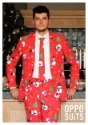 Men's Red Christmas Suit1