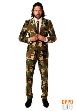 Mens OppoSuits Camouflage Suit