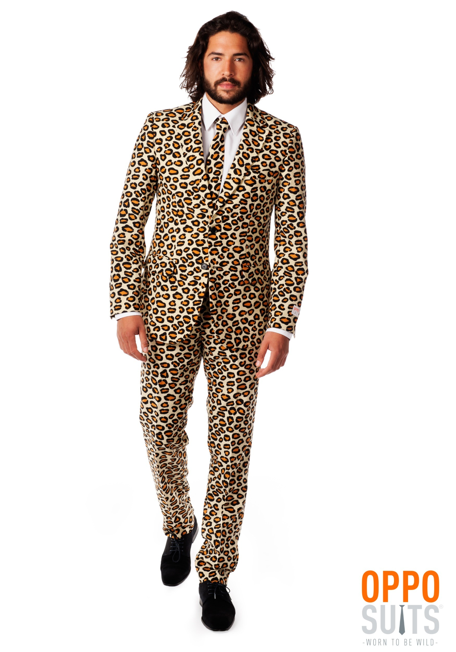 Menu0027s OppoSuits Jaguar Animal Printed Suit  sc 1 st  Fun.com & OppoSuits Jaguar Animal Printed Suit for Men