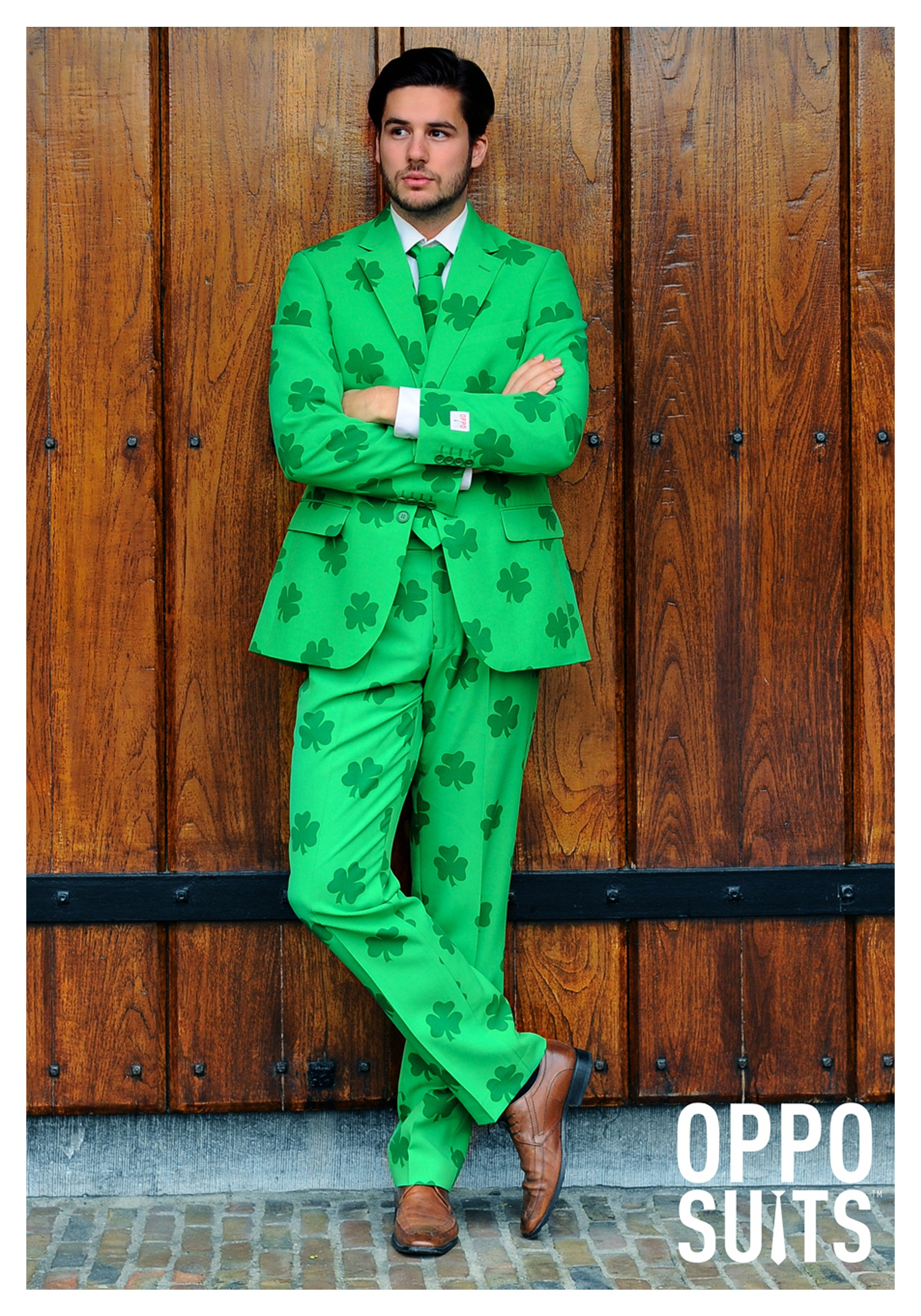710f63b67 Mens OppoSuits Green St Patricks Day Costume Suit