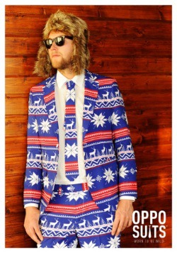 Mens Christmas Sweater Suit