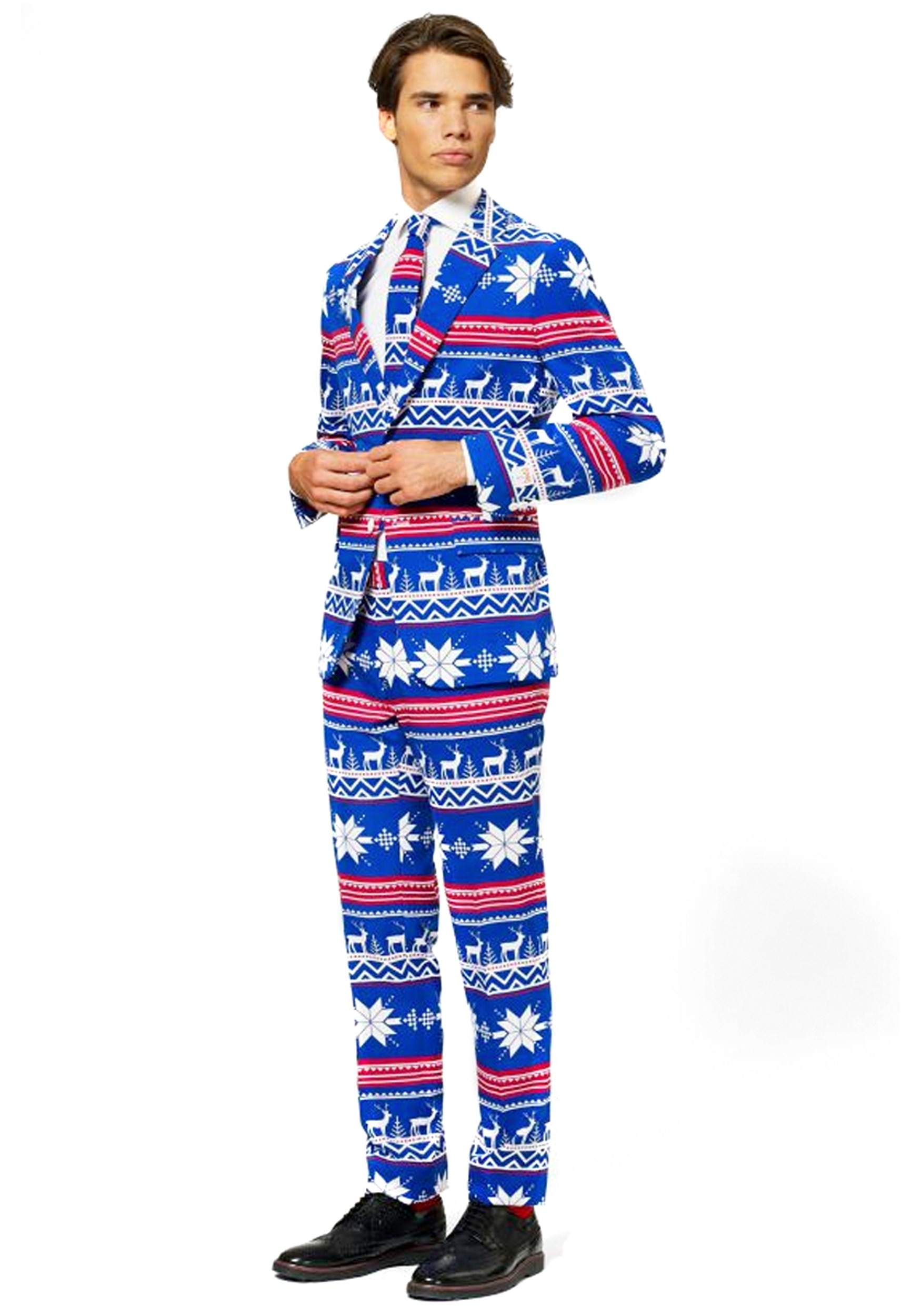 Men's Ugly Christmas Sweater Suit