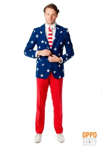 Men's OppoSuits Stars and Stripes Suit OSOSUI0023