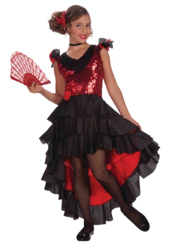 Spanish Dancer Child Costume