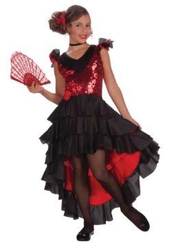 Spanish Dancer Girls Costume