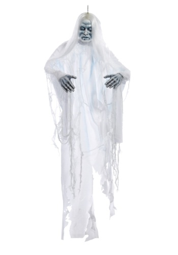 White Shadow Ghost Hanging Halloween Decoration