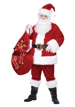 Adult Deluxe Classic Santa Suit