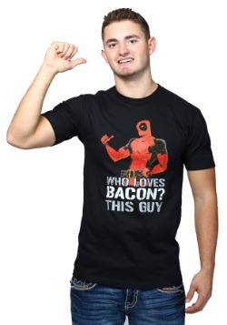 Deadpool Loves Bacon T-Shirt