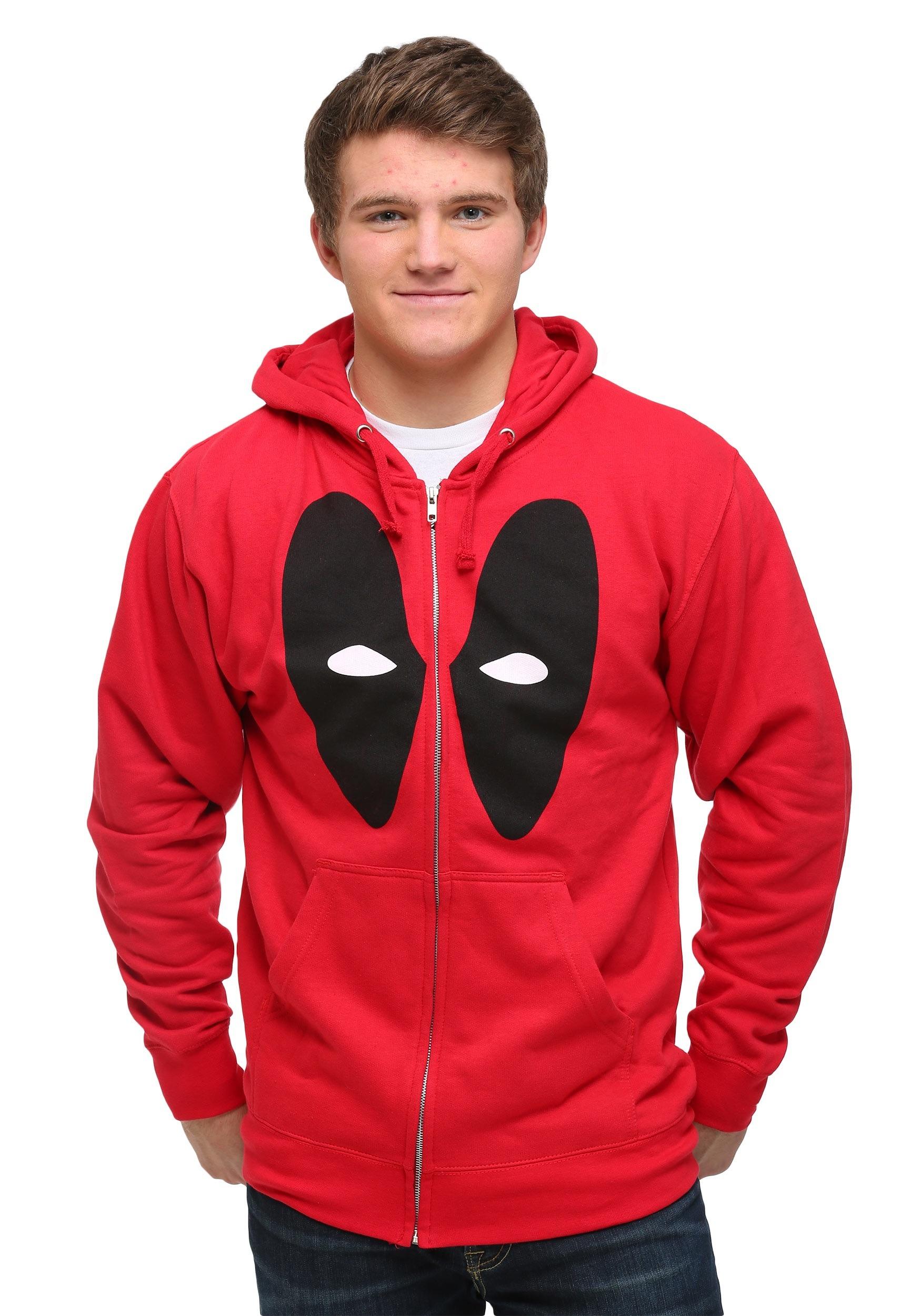 Minimal Deadpool Hoodie MFDC618DNC1