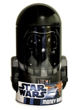 Darth Vader Tin Bank