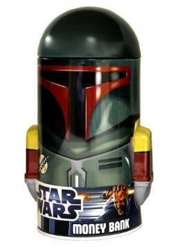 Boba Fett Tin Bank