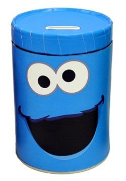 Cookie Monster Tin Bank