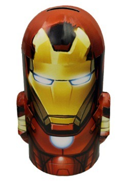 Iron Man Tin Bank