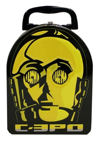 C 3PO Embossed Arch Tin Box