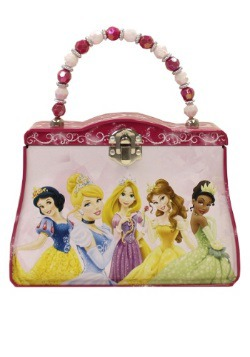 Pink Disney Princesses Tin Purse