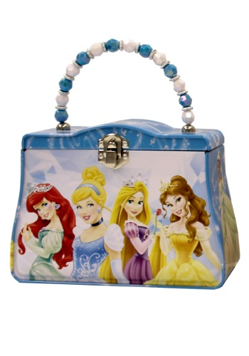 Blue Disney Princesses Tin Purse