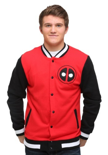 Team Deadpool Varsity Jacket