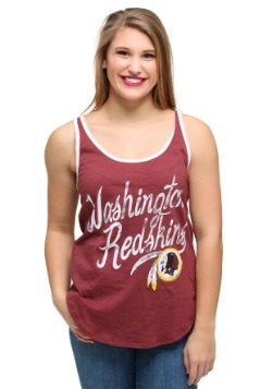 Juniors Washington Redskins Roster Ringer Tank Top