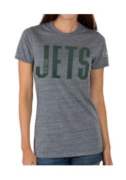 Touchdown Triblend Crew New York Jets Juniors Shirt