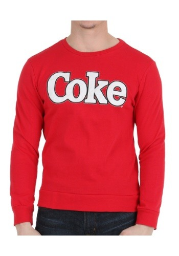 Coke Patch Crew Neck Sweatshirt