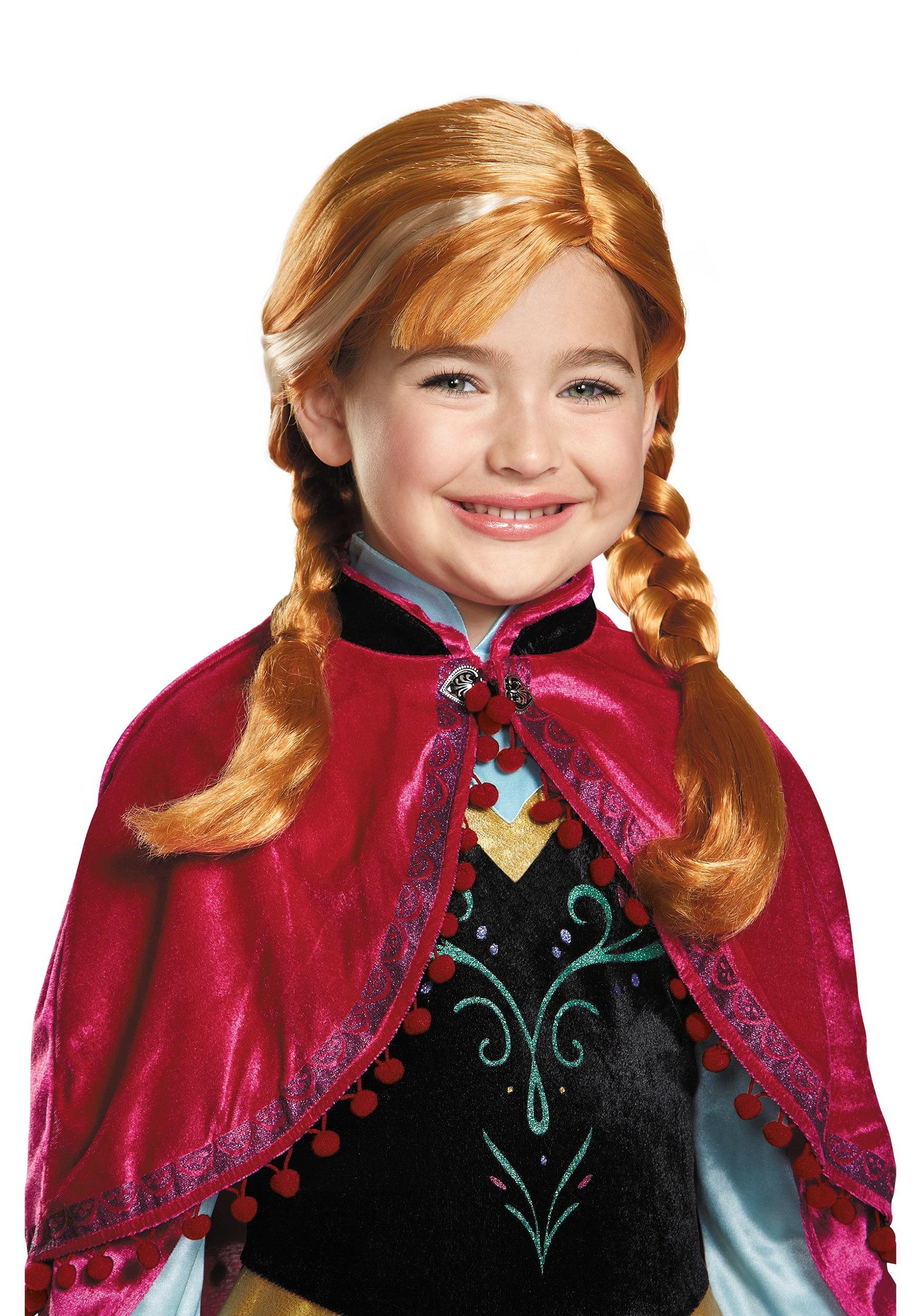 Frozen Anna Wig For Kids