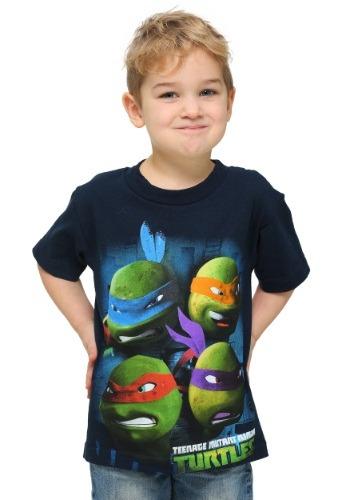 TMNT Four Faces T-Shirt