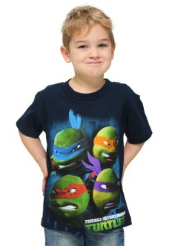 TMNT Four Faces T-Shirt