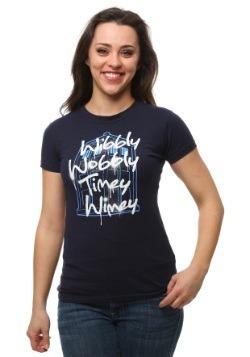 Womens Wibbly Wobbly Timey Wimey T-Shirt