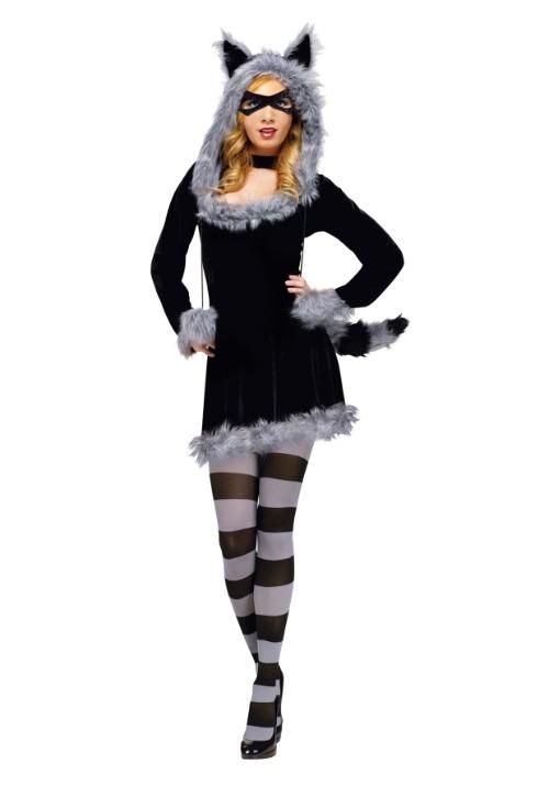 Adult Racy Raccoon Costume