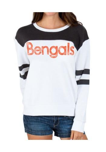 Womens Bengals Champion Fleece Shirt
