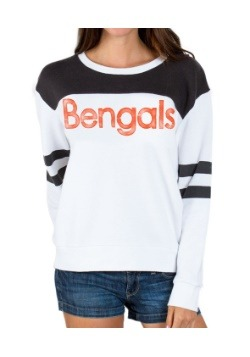 Womens Bengals Champion Fleece Shirt
