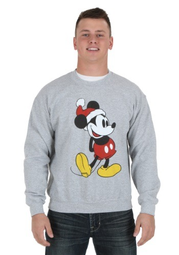 Classic Mickey Christmas Hat Sweatshirt