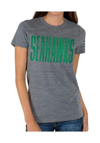Women's Touchdown Triblend Crew Seattle Seahawks T-Shirt