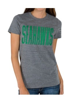 Women's Touchdown Triblend Crew Seattle Seahawks T-Shirt