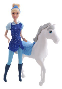 Cinderella & Royal Horse Figure