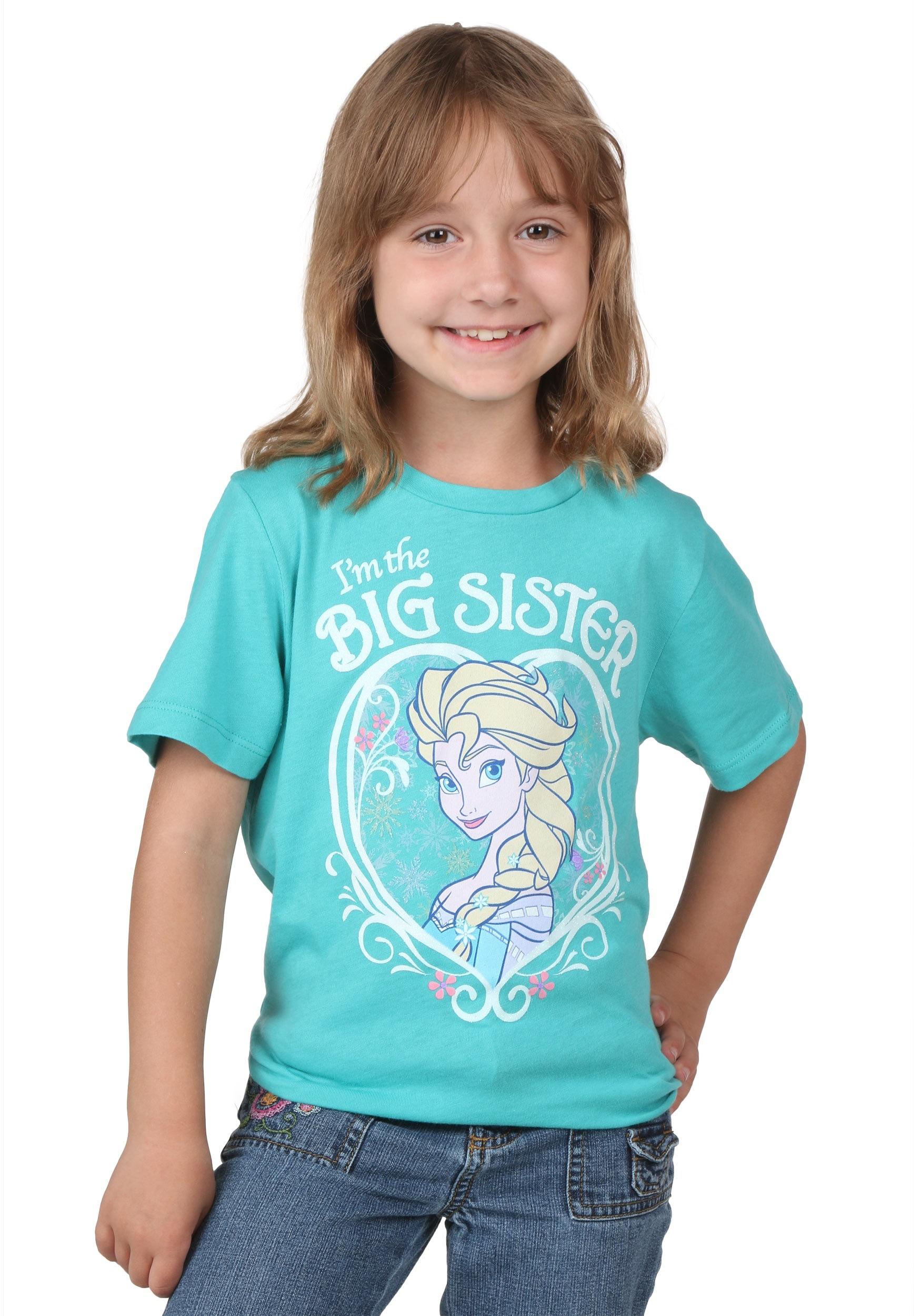 Frozen Elsa I M The Big Sister T Shirt