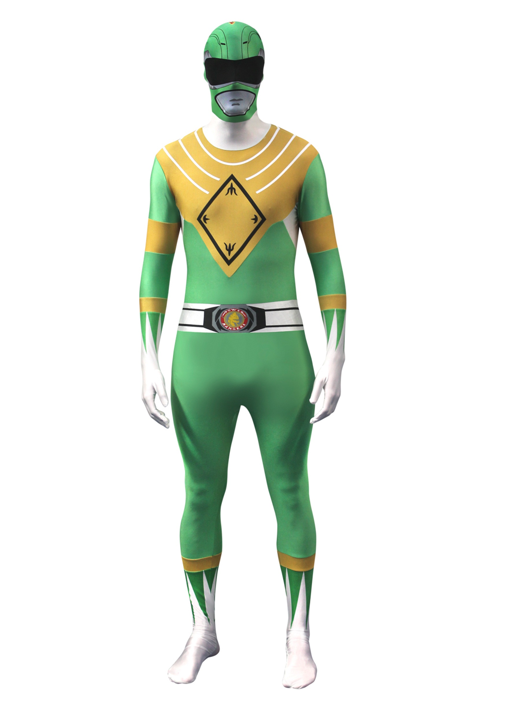 sc 1 st  Fun.com & Power Rangers: Green Ranger Morphsuit