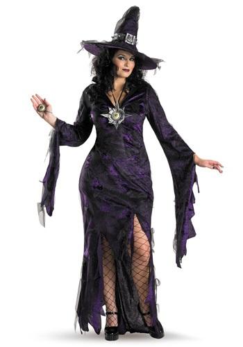 Womens Plus Size Sorceress Costume