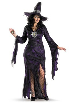 Womens Plus Size Sorceress Costume