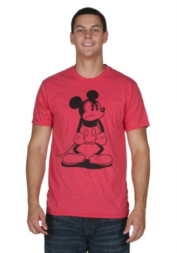 Men's Mickey Mouse Standing Mad T-Shirt