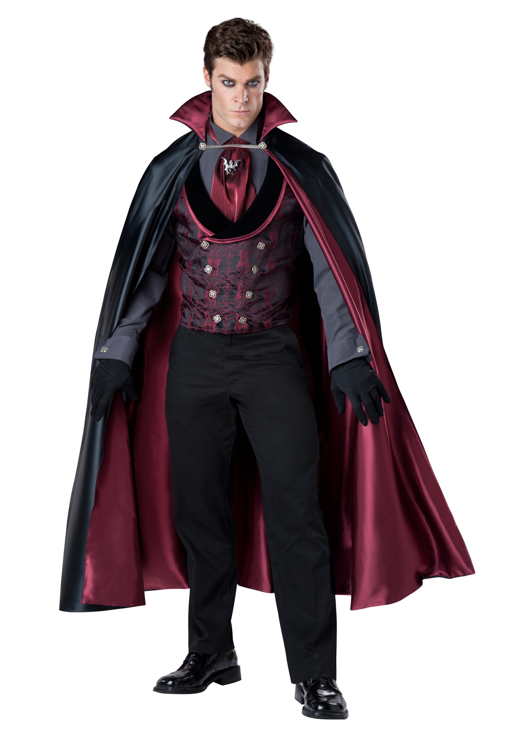 Menu0027s Nocturnal Count Vampire Costume