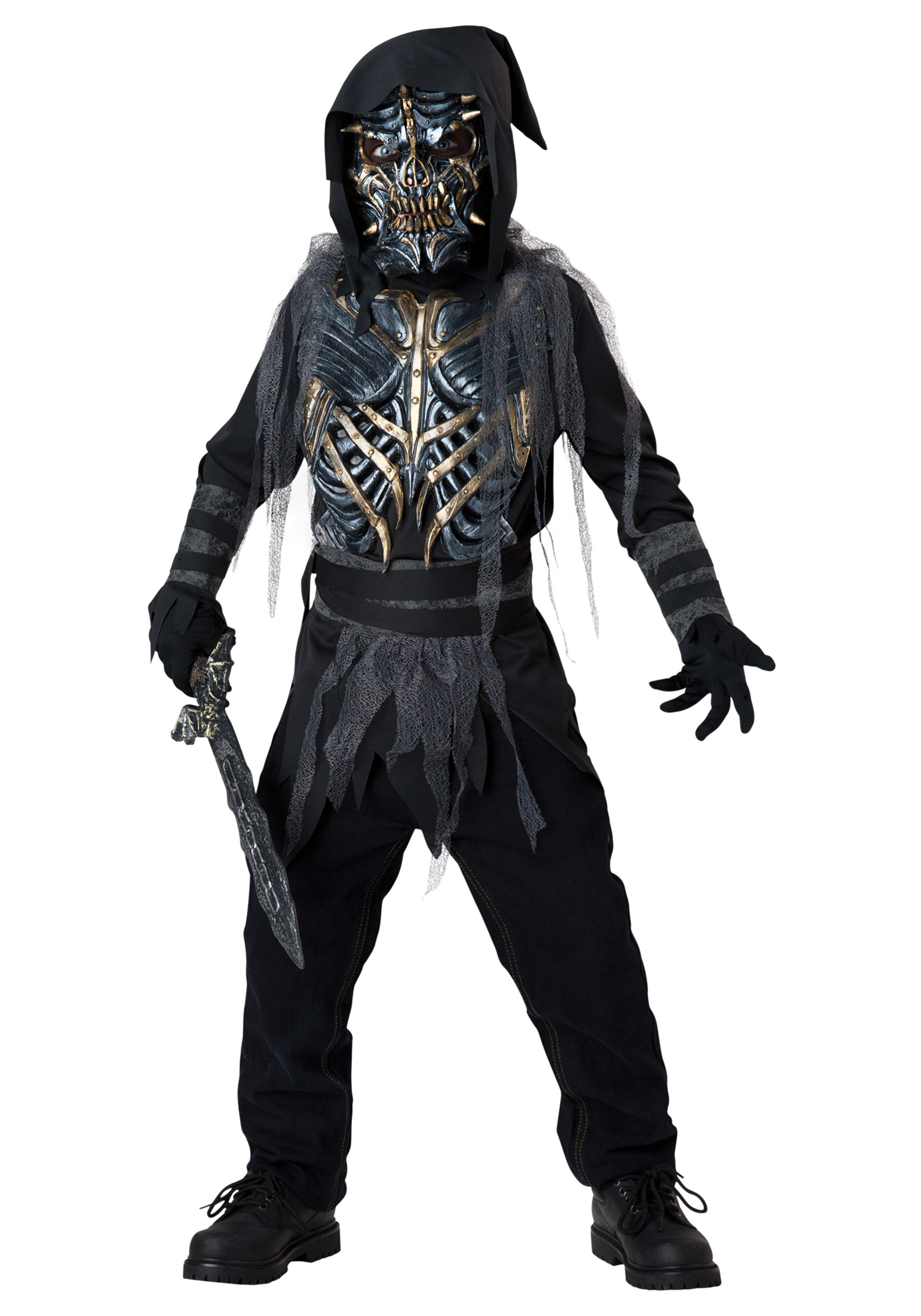 Death Warrior Kids Costume  sc 1 st  Fun.com & Kids Death Warrior Costume