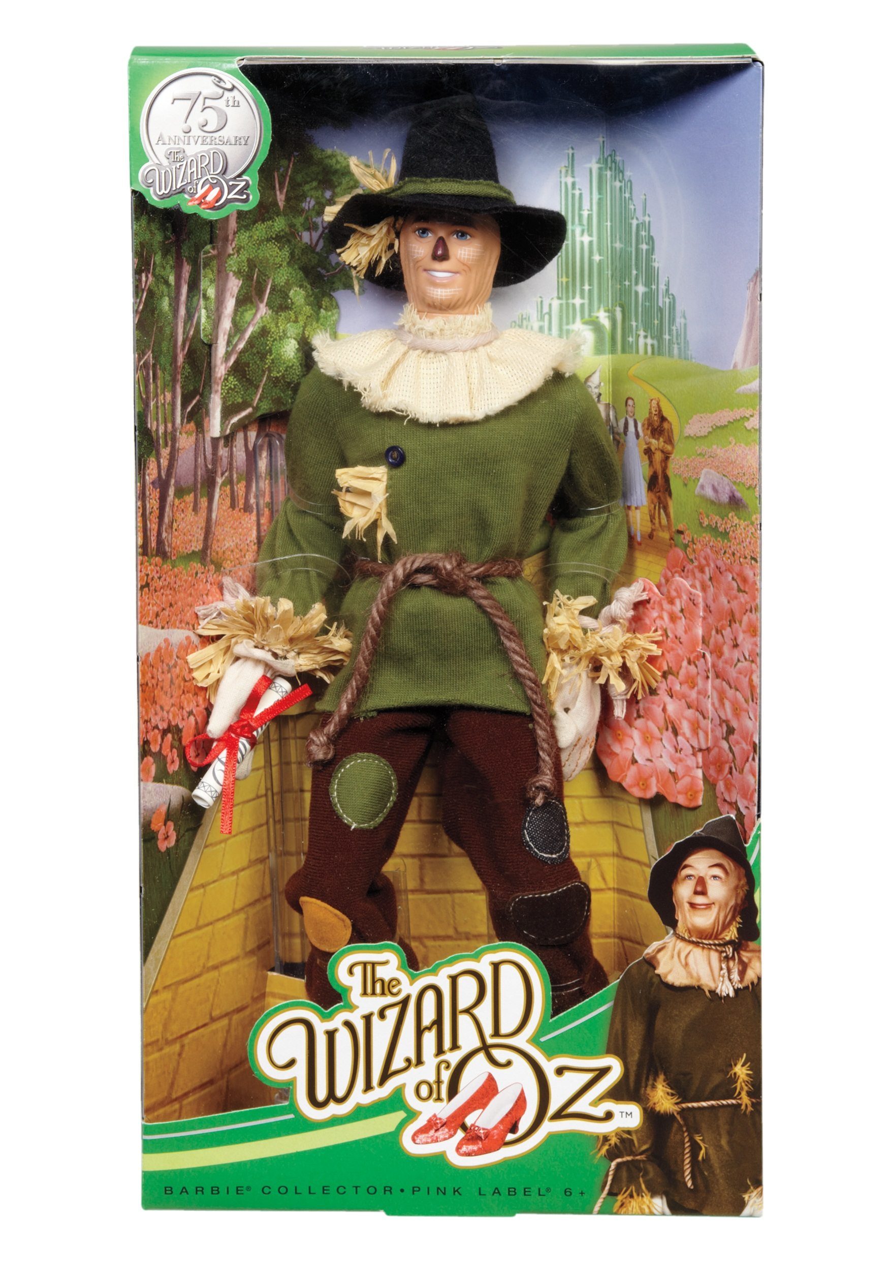 Barbie Collector Wizard of Oz Scarecrow Figure MLBCP77