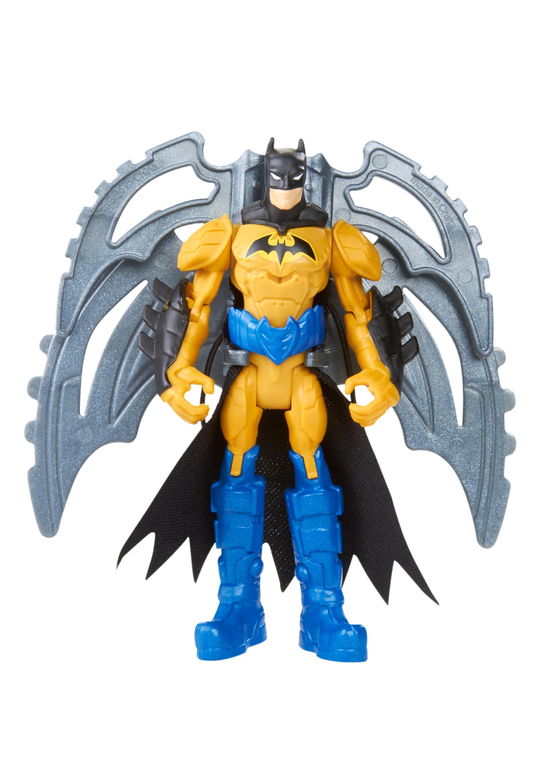 """Batman Wing Zip 4"""" Figure MLBHC70"""