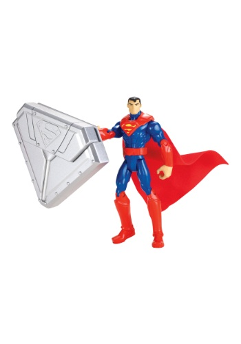 "Superman Steel Shield 4"" Figure"