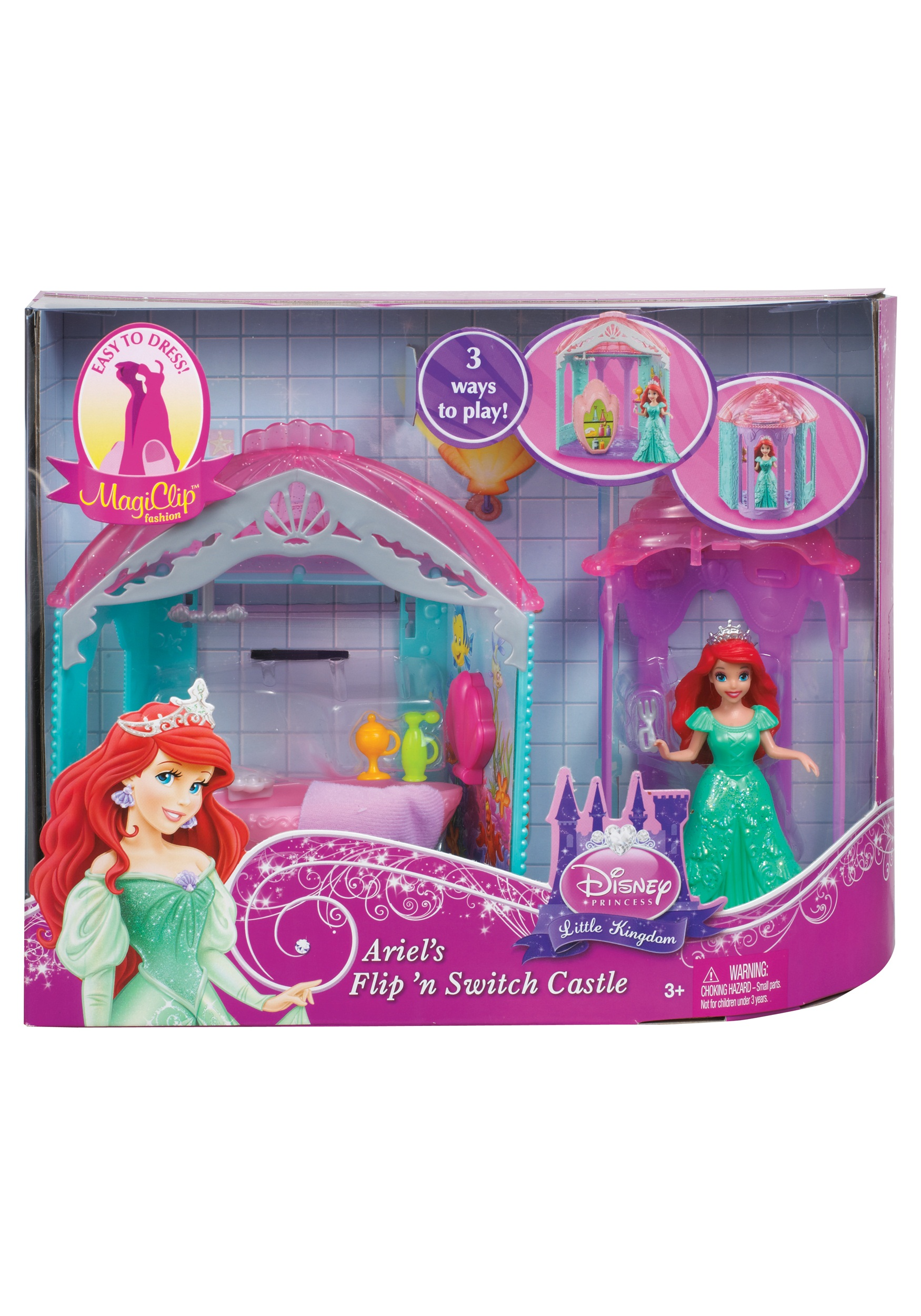 Disney Princess Little Kingdom Magiclip Ariel Room